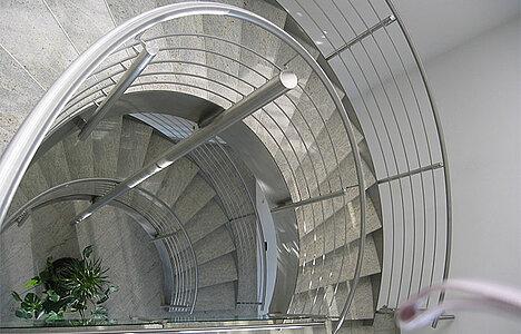 Treppengeländer Edelstahl